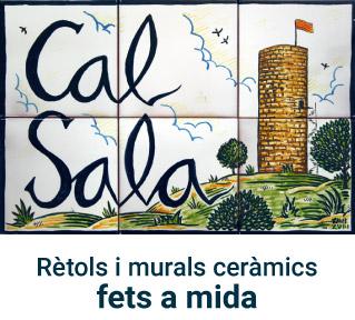 murals i retols ceràmics pintats a ma
