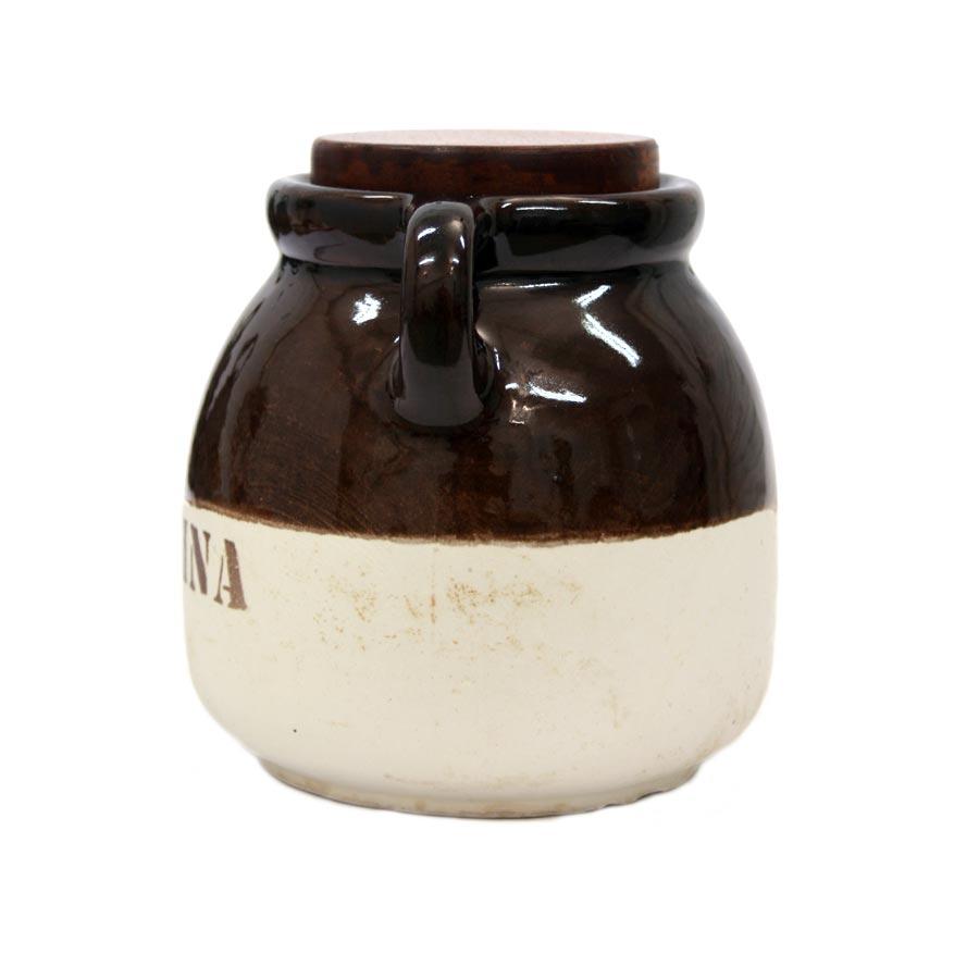 Lateral 2 del pot de ceràmica per a Farina