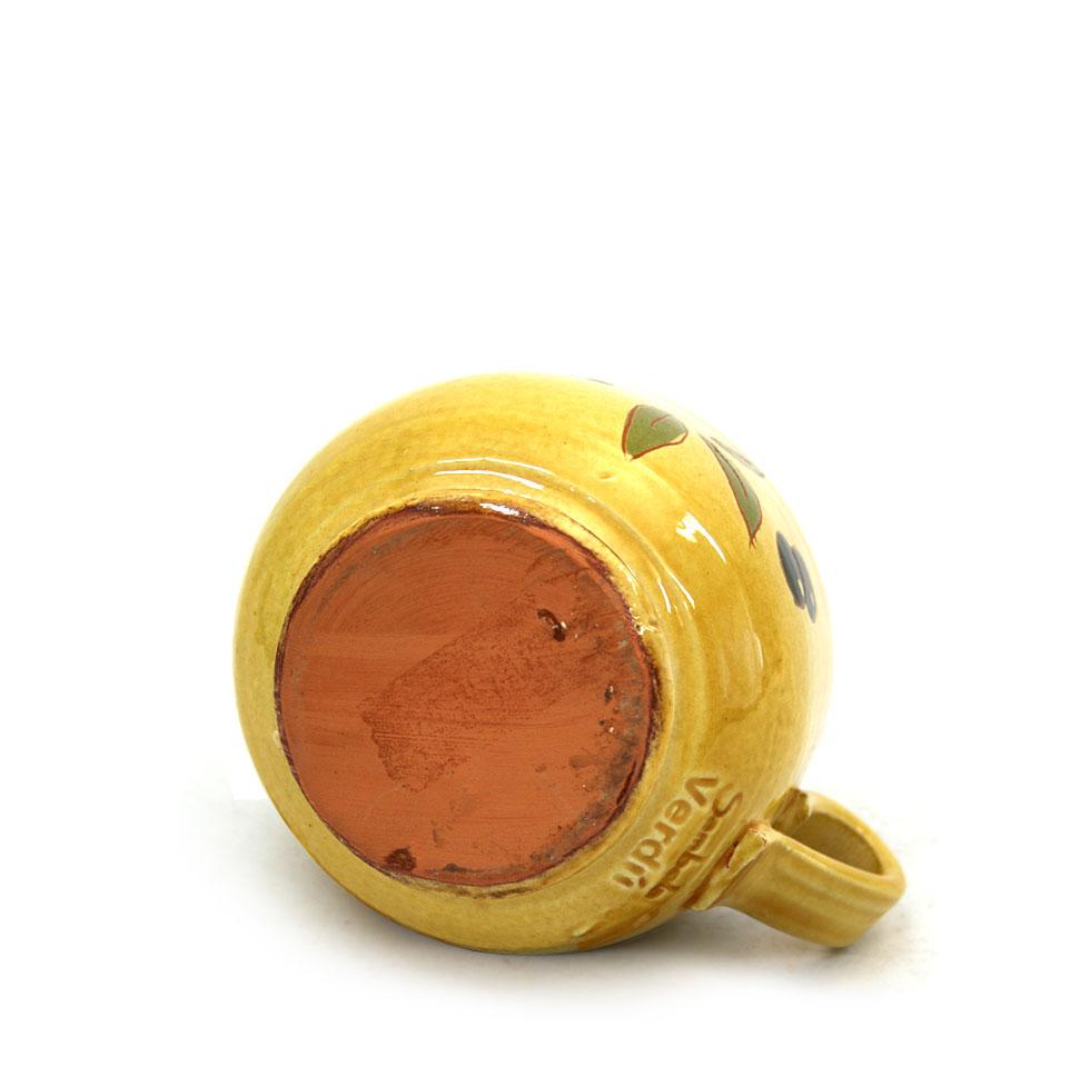 Vista inferior de la tassa ampla de ceràmica