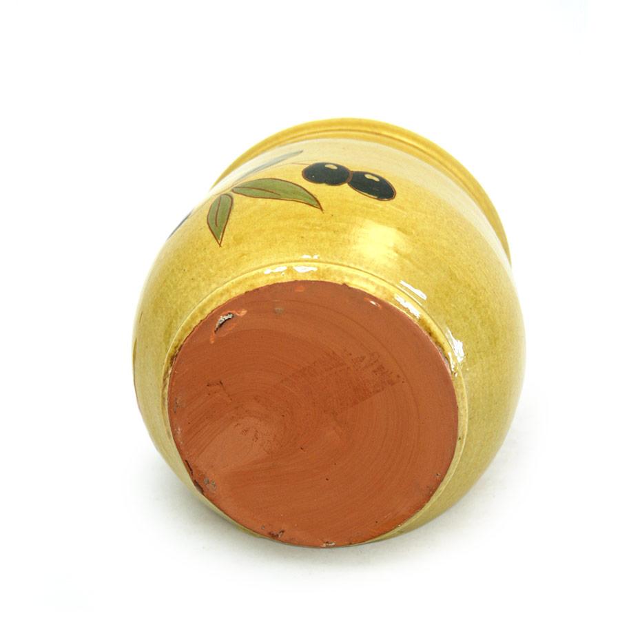 Vista inferior de la sucrera de ceràmica