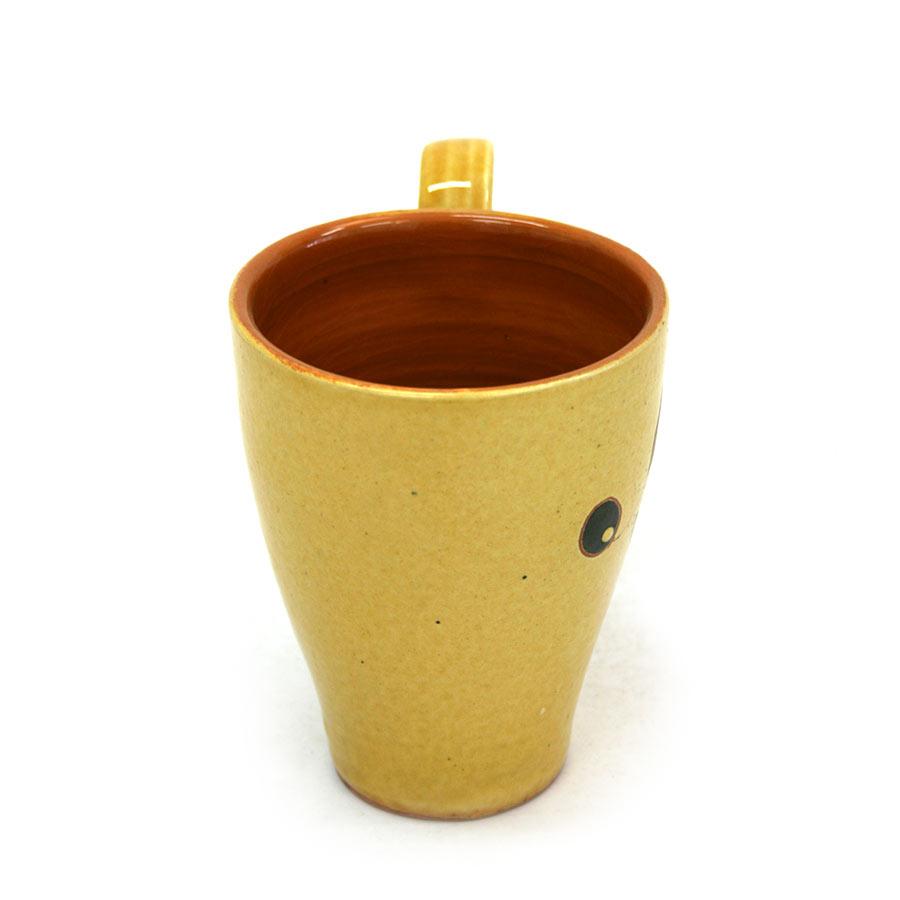 Vista lateral 1 de la tassa de ceràmica