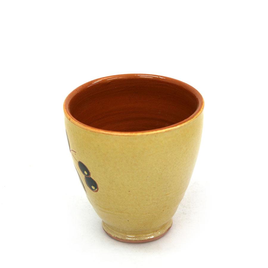 Vista lateral 2 del got de ceràmica