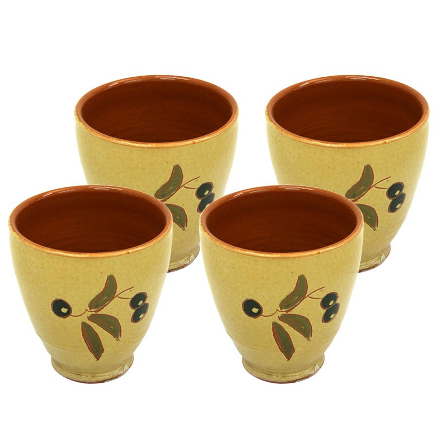 4 Vasos de ceràmica