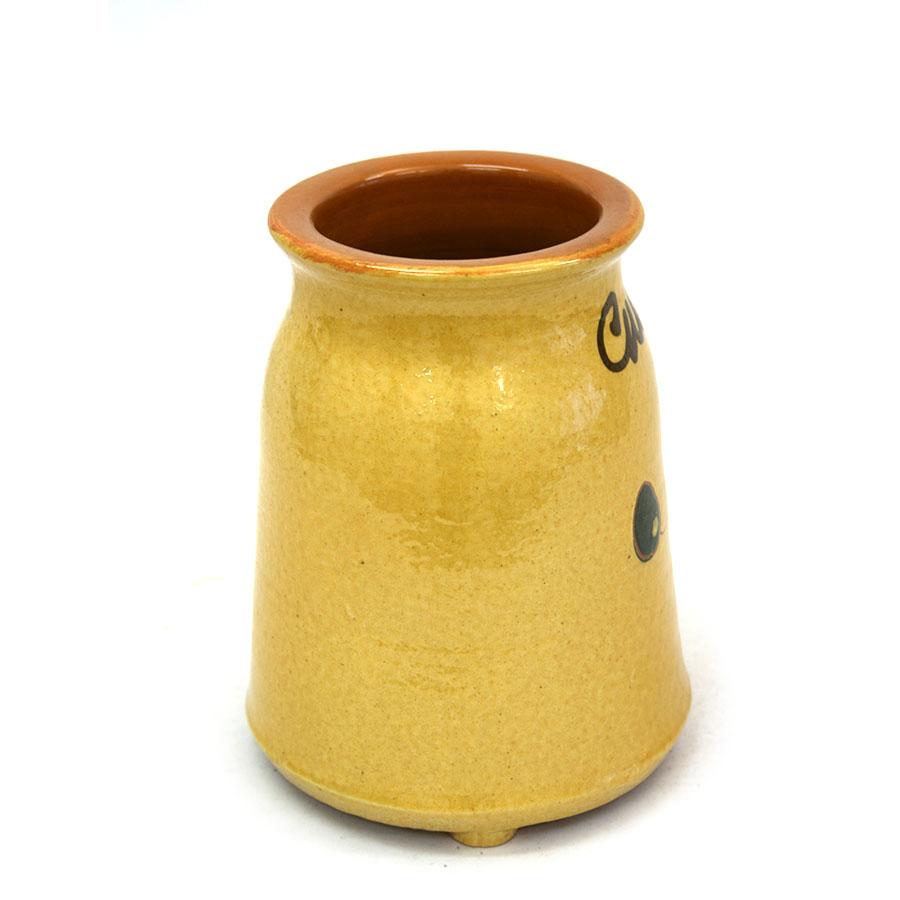 Vista lateral 1 del cullerer de ceràmica