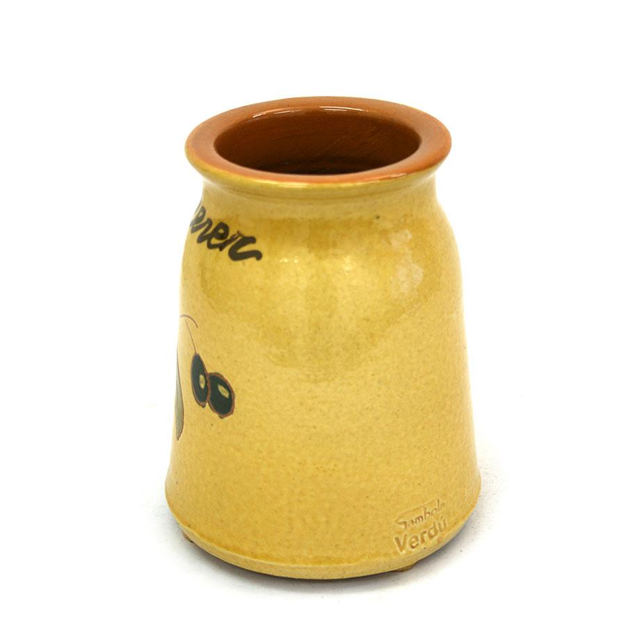 Vista lateral 2 del cullerer de ceràmica