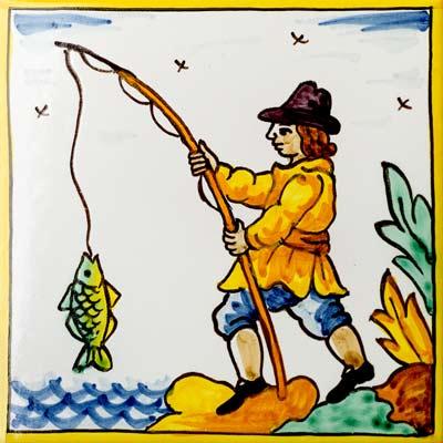 Rajola amb Pescador dret