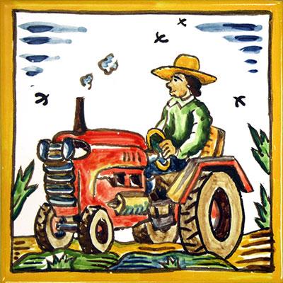 Rajola amb Pagès i tractor
