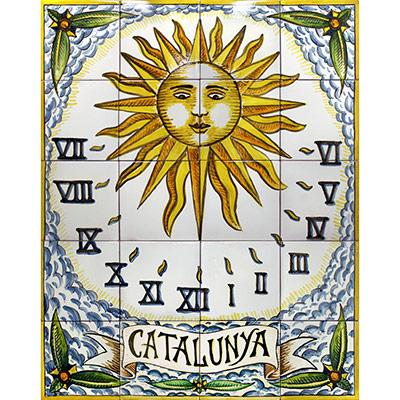Rellotge de sol 'Catalunya'
