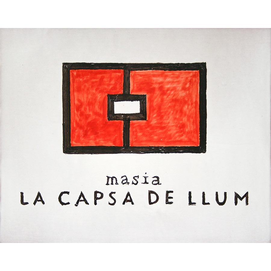 Rètol de ceràmica amb logo