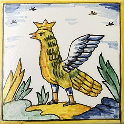 Rajola amb Àguila Reial