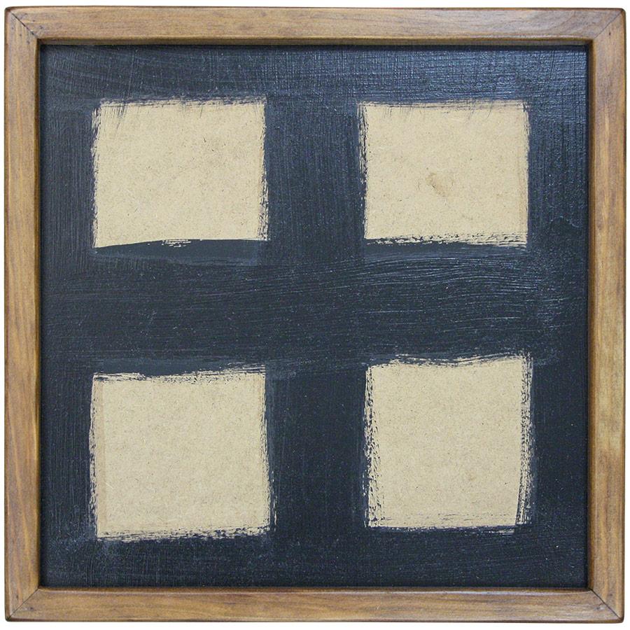 Marc prim de fusta per a composició de 4 rajoles de 15x15cm