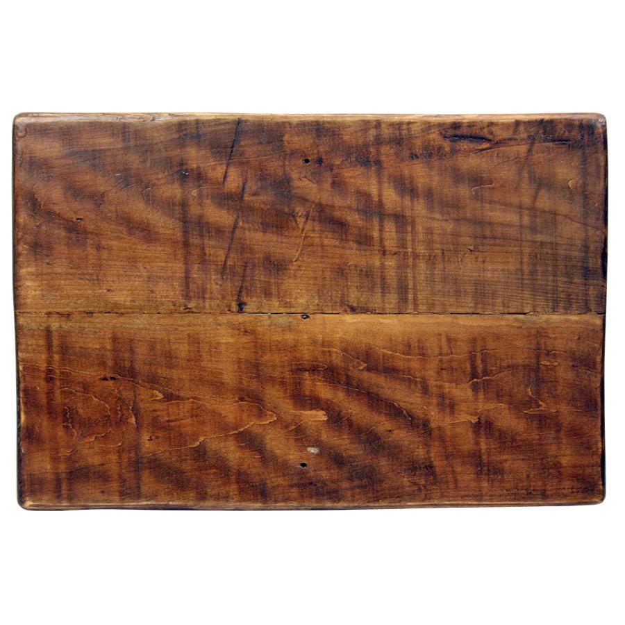 Darrera del rètol de fusta envernissat per exterior