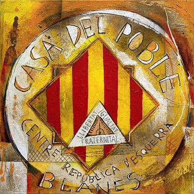 Logotip Casa del Poble, Blanes