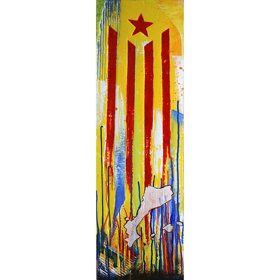 Estelada vermella i Països catalans
