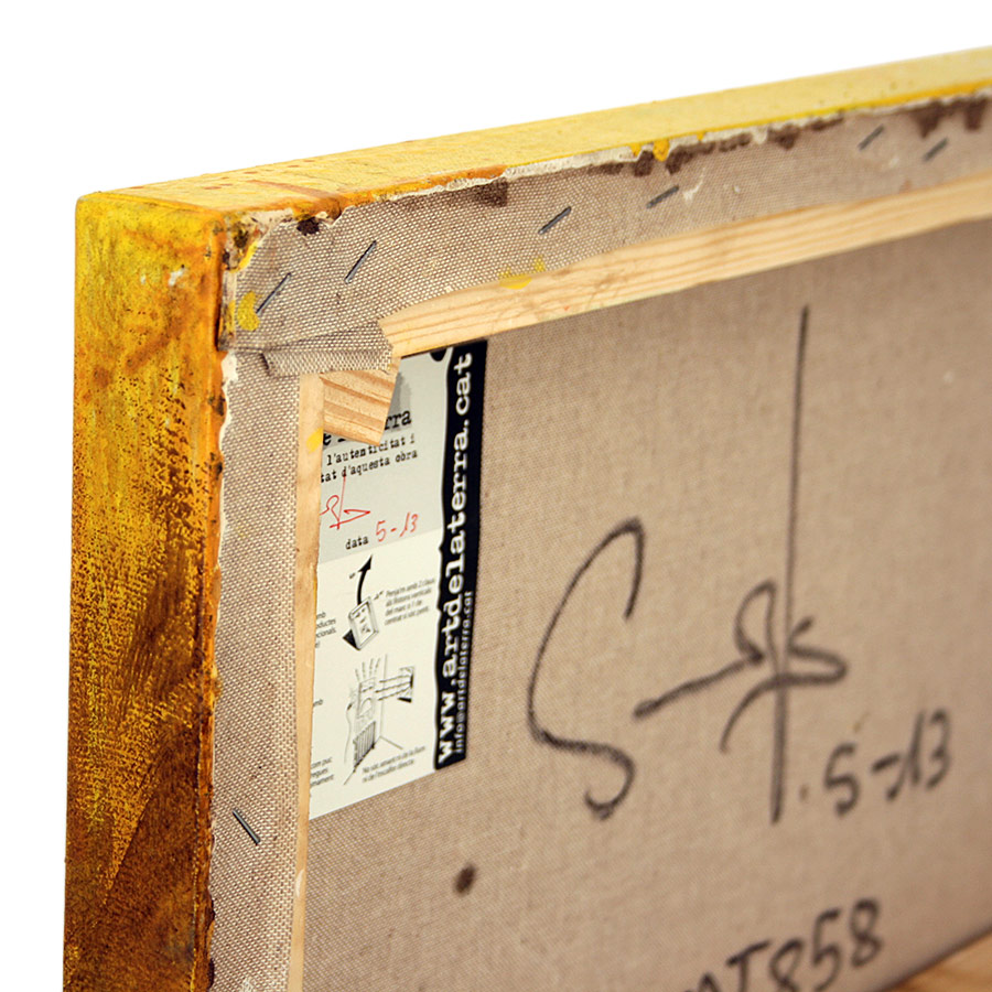 Llom de 3'5cm més signatura amb data i certificat d'autenticitat