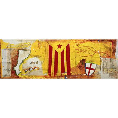 Estelada, escut de St. Jordi i Països Catalans