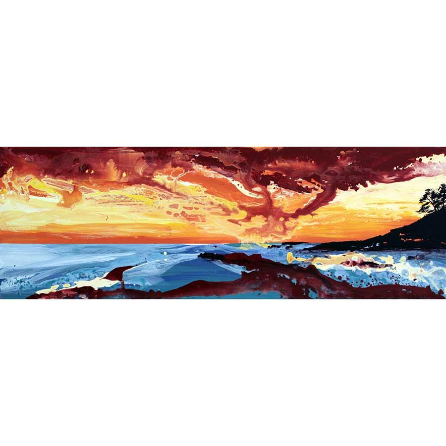 Quadre amb paisatge del Cap de Creus