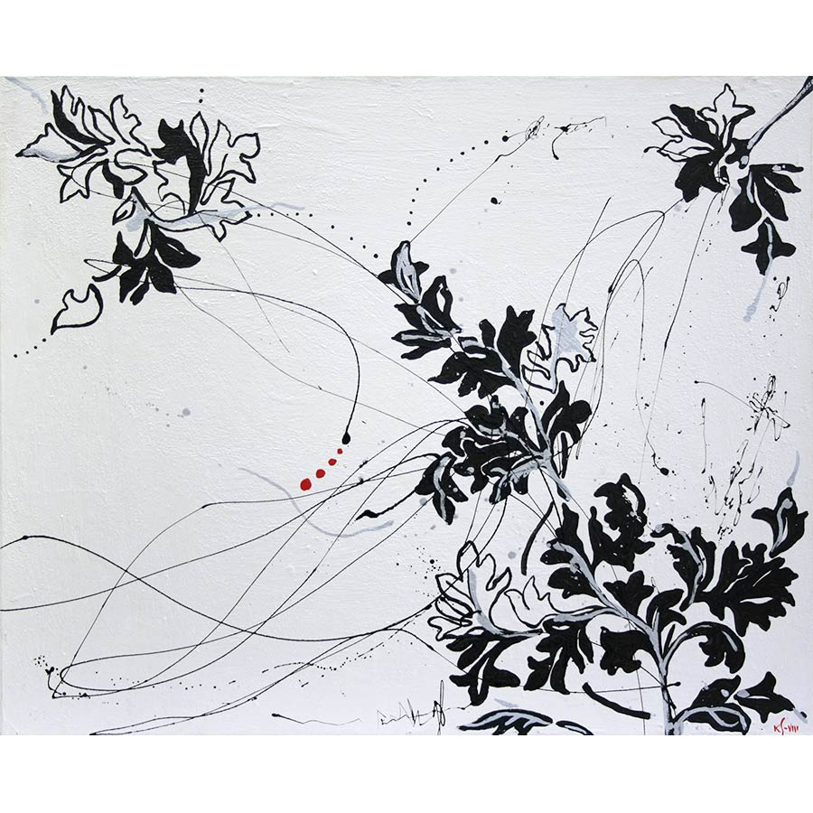 Quadre amb motius florals
