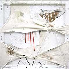 Quadre abstracte amb 4 barres