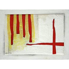 4 barres i creu de St. Jordi