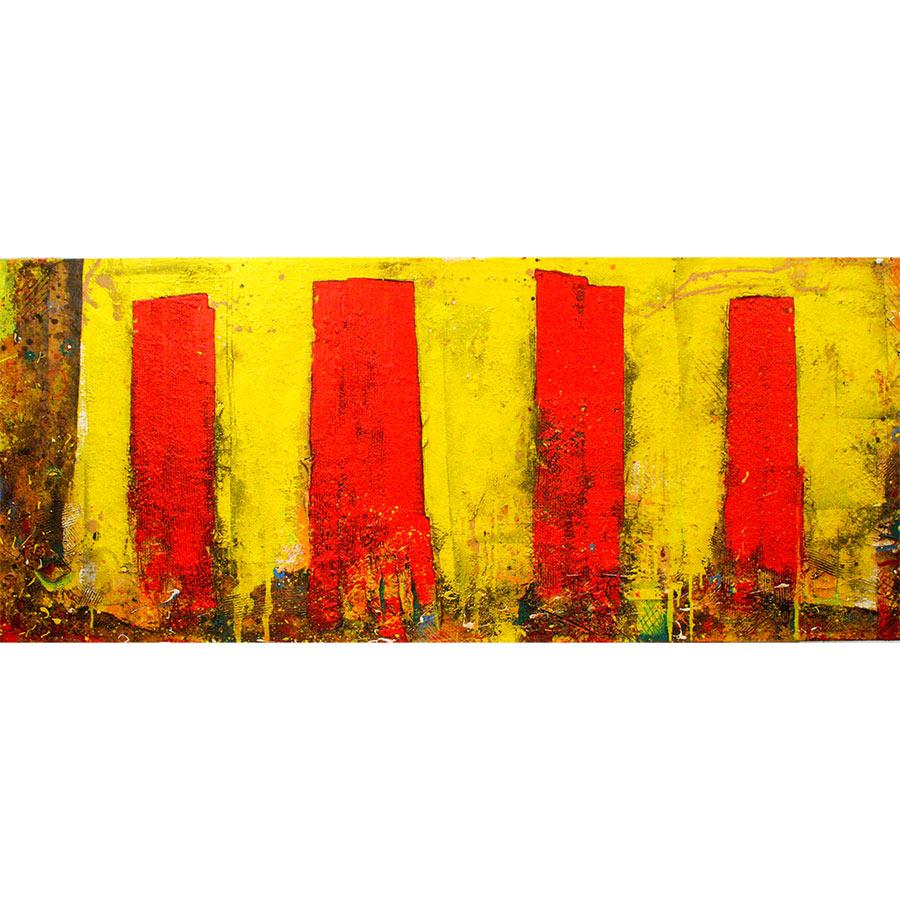Quadre de gran format (75x190cm) sense lletres