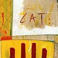 Detall del quadre amb escut de Catalunya i escut de Sant Jordi
