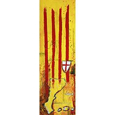 Senyera, escut de St. Jordi i PPCC