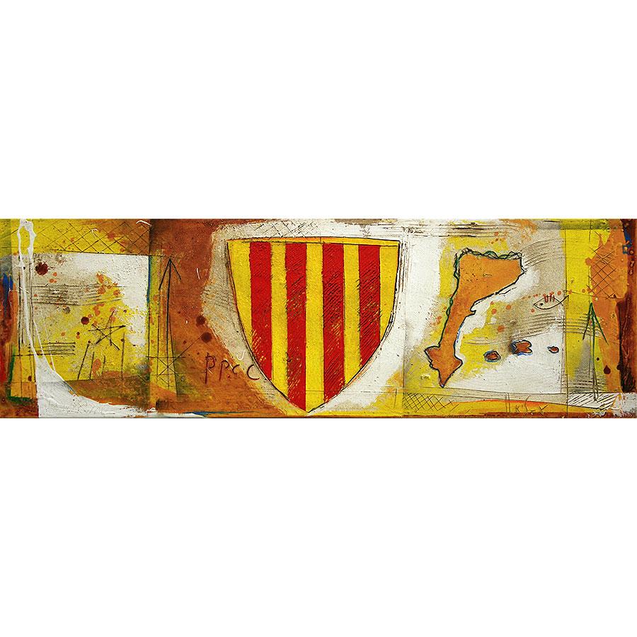 Escut català, estelada i Països Catalans