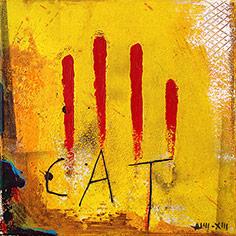 4 ditades i lletres 'CAT'