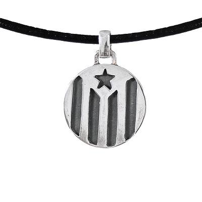 Collaret ajustable amb estelada de Plata