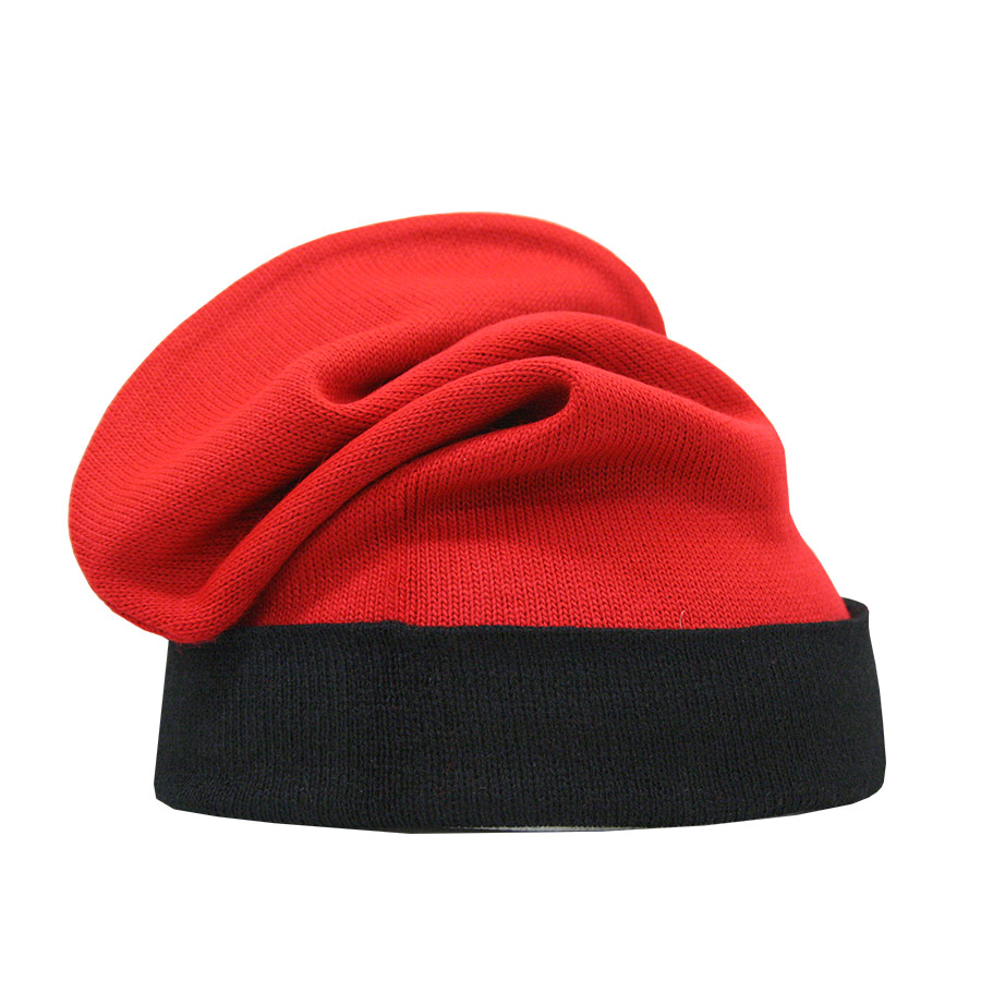 Barretina catalana de color vermell