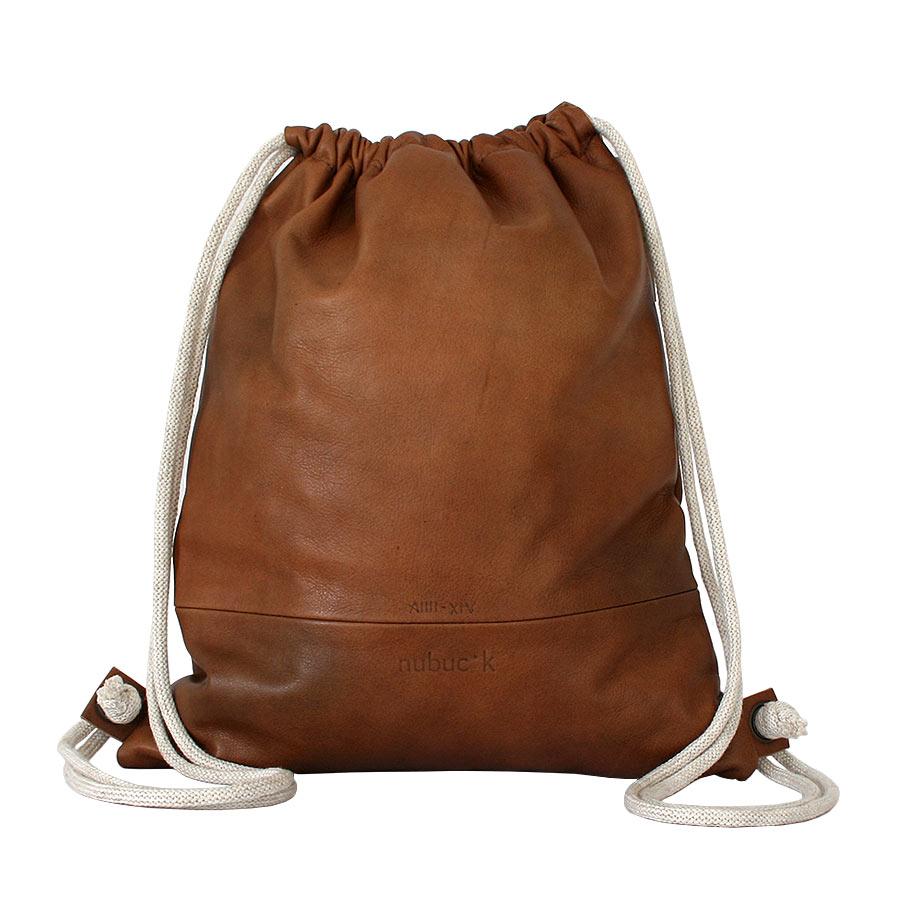 Darrera de la bossa d'esquena de cuir pintada amb estelada i ppcc
