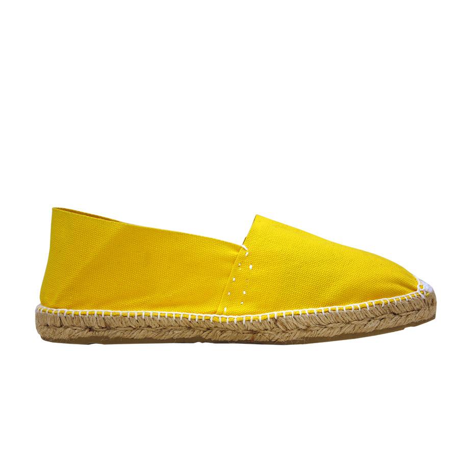 Espardenya tipus 'càmping' color groc