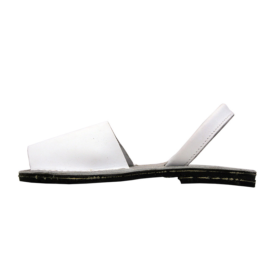 Avarca catalana de color blanc