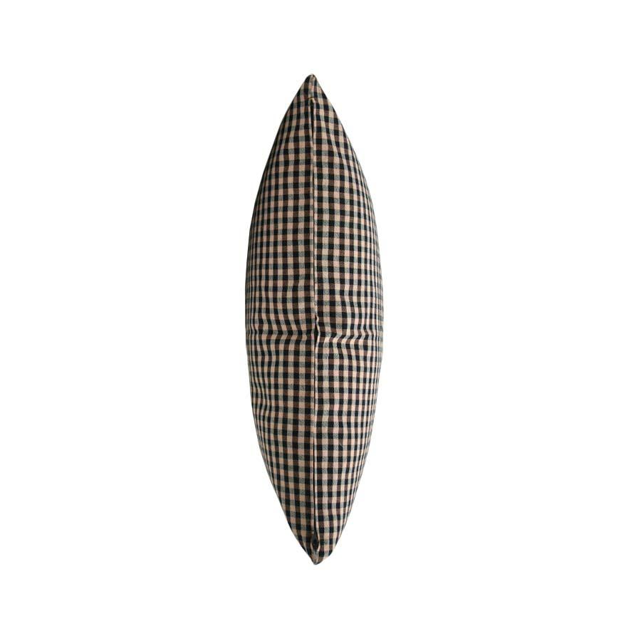 Perfil 2 del coixí fet amb roba de fer farcells