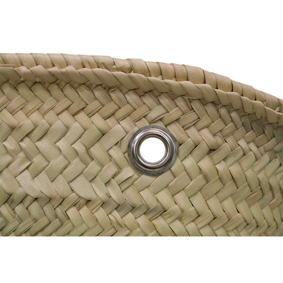 Detall dels forats amb marc metàl·lic