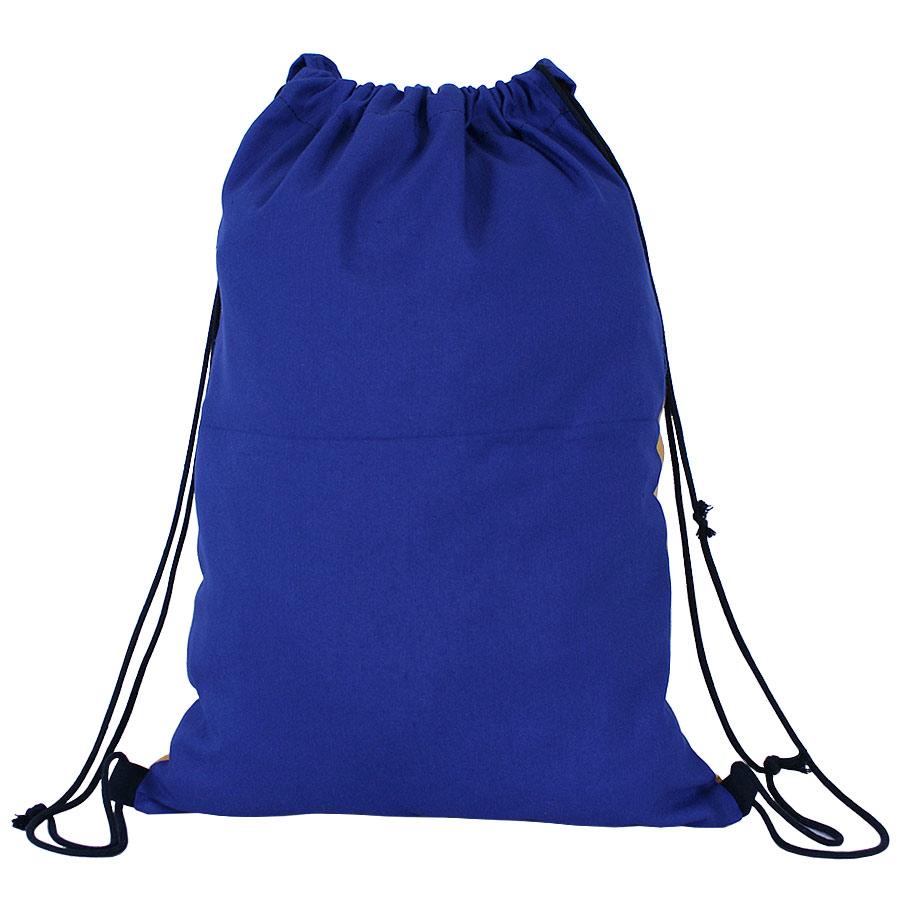 Darrera de la bossa d'esquena amb estelada cosida a mà