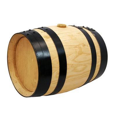 Barril en fusta de Roure Americà
